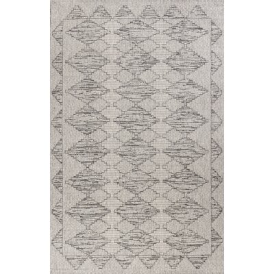Brennan Gray Area Rug Rug Size: Rectangle 67 x 96