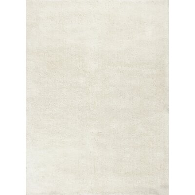 Shelia Ivory Indoor/Outdoor Area Rug Rug Size: 76 x 96