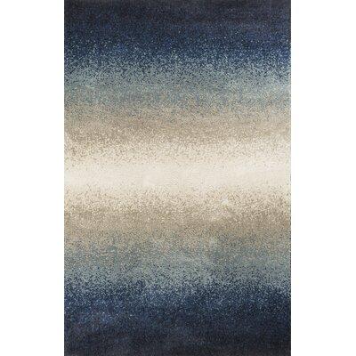 Monterrey Ocean Blue/Gray Area Rug Rug Size: 77 x 1010