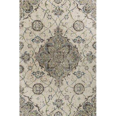 Horton Ivory/Beige Area Rug Rug Size: 93 x 133