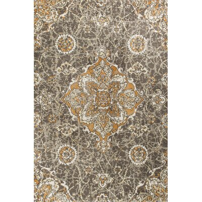 Horton Taupe/Spice Area Rug Rug Size: 33 x 411