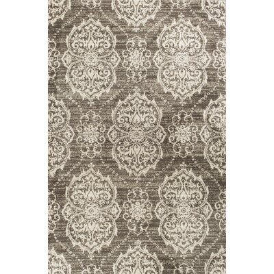 Coeymans Taupe/Ivory Area Rug Rug Size: 33 x 411