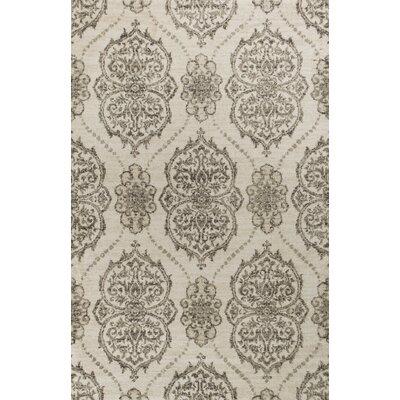 Coeymans Ivory/Beige Area Rug Rug Size: 93 x 133