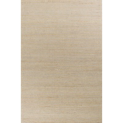 Anders Hand Woven Wool Gray Area Rug Rug Size: 66 x 96