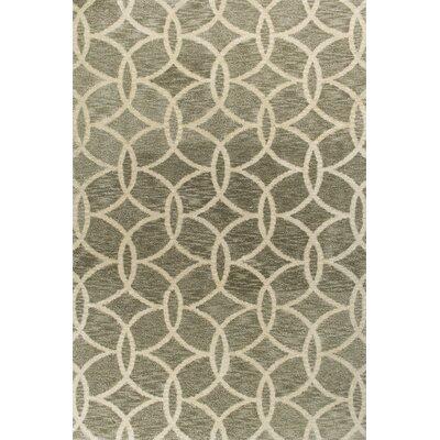 Crittendon Slate Illusions Area Rug Rug Size: 5 x 7