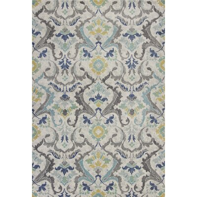 Curtice Gray Harmony Area Rug Rug Size: Rectangle 53 x77