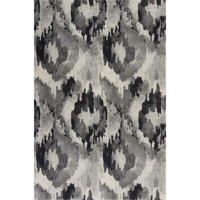 Chesterfield Gray Area Rug Rug Size: Rectangle 53 x77