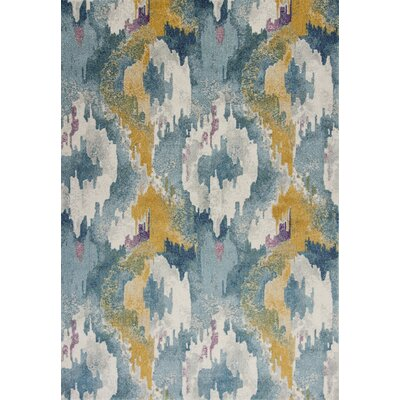 Chesterfield Teal Area Rug Rug Size: Rectangle 53 x77