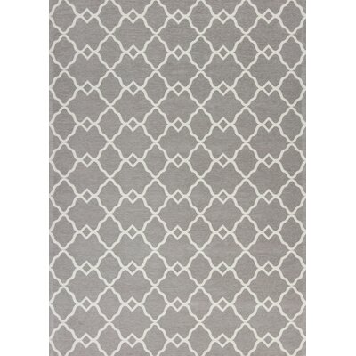 Cambridge Gray Layla Area Rug Rug Size: 33 x 53