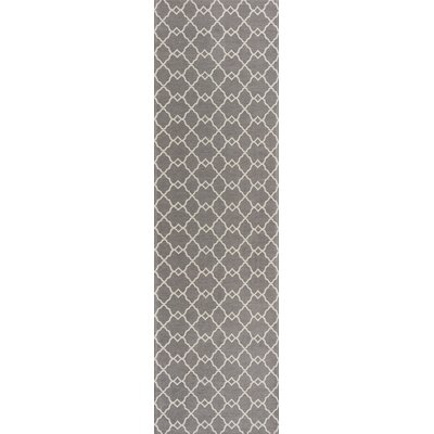 Cambridge Gray Layla Area Rug Rug Size: 22 x 76