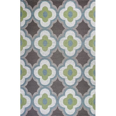 Sealy Filigree Green/Gray Area Rug Rug Size: 79 x 99
