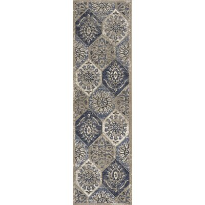 Holder Pewter Area Rug Rug Size: Runner 22 x 76