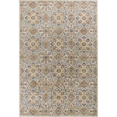 Holder Ivory Area Rug Rug Size: 33 x 411