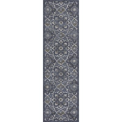 Holder Denim Area Rug Rug Size: Runner 22 x 76