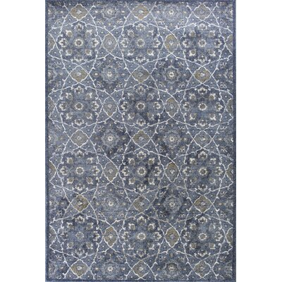 Holder Denim Area Rug Rug Size: Rectangle 53 x 77