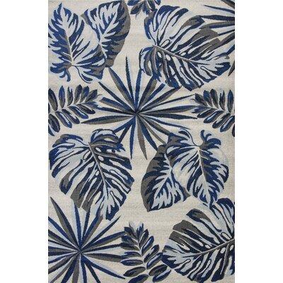 Sarasota Gray/Blue Area Rug Rug Size: 710 x 1010