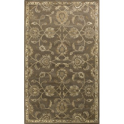 Banstead Hand-Tufted Wool Coffee Area Rug Rug Size: 5 x 8