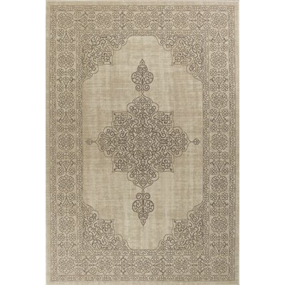 Holmes Flat Woven Wool Natural Area Rug Rug Size: 910 x 132