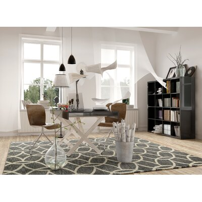Crittendon Gray Illusions Area Rug Rug Size: 76 x 96