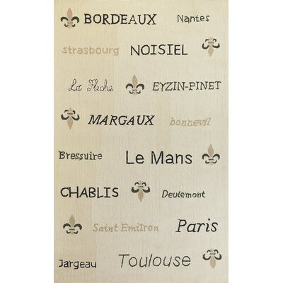 "Sonesta French Country Novelty Rug Rug Size: 2'3"" x 3'9"