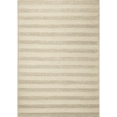 Sherwood Hand-Tufted Wool Winter Beige Area Rug