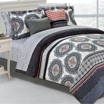 Donatello 10 Piece Comforter Set Size: Queen