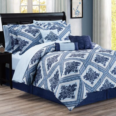 Brambach 10 Piece Bed-In-a-Bag Set Size: Queen