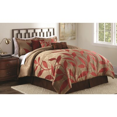 Oneida 7 Piece Comforter Set Size: King