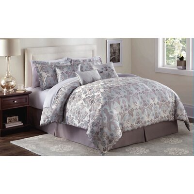 Market Harborough 7 Piece Comforter Set Size: Queen