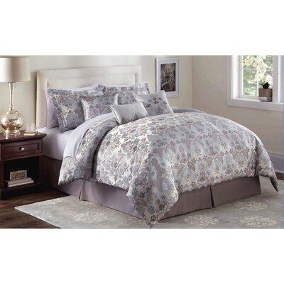 Market Harborough 7 Piece Comforter Set Size: King