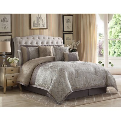 Carterton 7 Piece Comforter Set Size: Queen