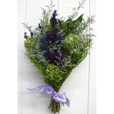 Dried Basil And Lavender Flowers