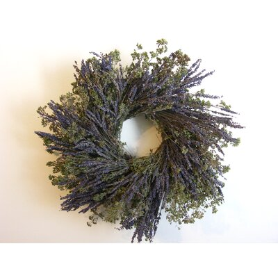 16 Lavender and Oregano Wreath