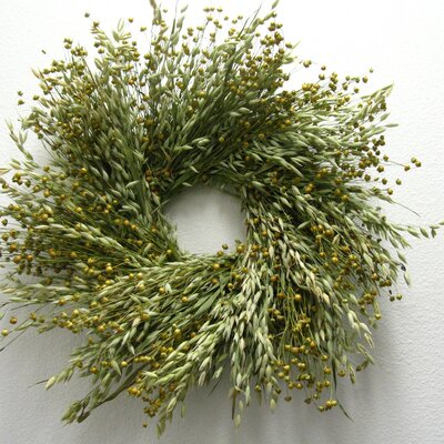 16 Avena and Flax Wreath