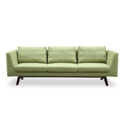 Catherine Mid Century Modern Sofa Upholstery: Greenwich