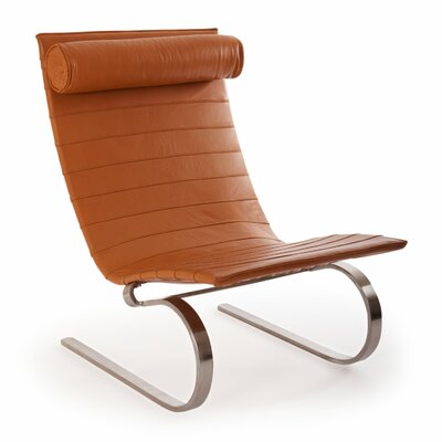 Cantilever Modern Lounge Chair Color: Canyon