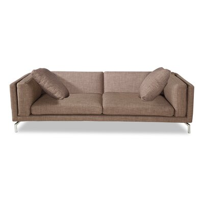 Tia Modern Loft Sofa Upholstery: French Press