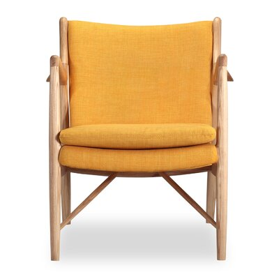 Rashad Armchair Color: Citrine