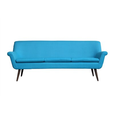 Murphy Mid Century Modern Sofa Upholstery: Norton Cashmere