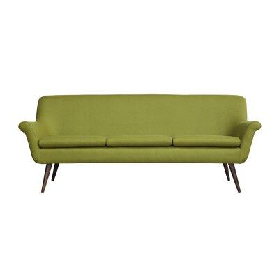 Murphy Mid Century Modern Sofa Upholstery: Gresham Cashmere