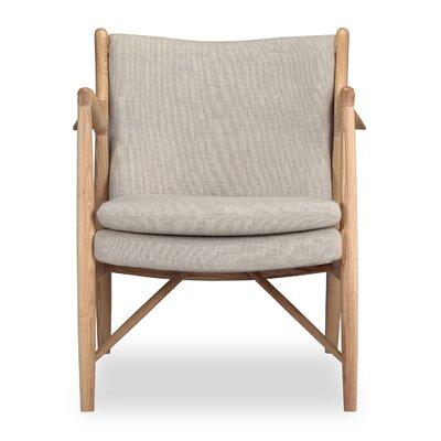 Rashad Armchair Upholstery: Urban Hemp