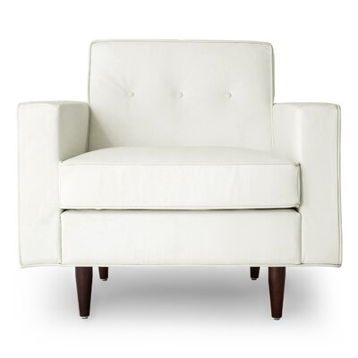 Potter Armchair Upholstery: Arctic White