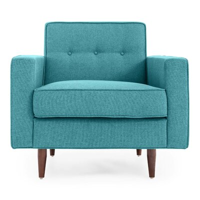 Potter Mid Century Modern Upholstered Armchair