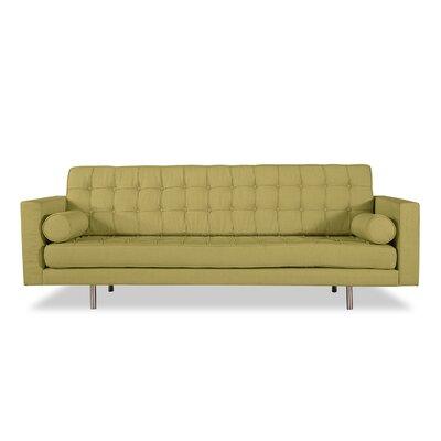 Madison Mid Century Modern Sofa Upholstery: Olivine