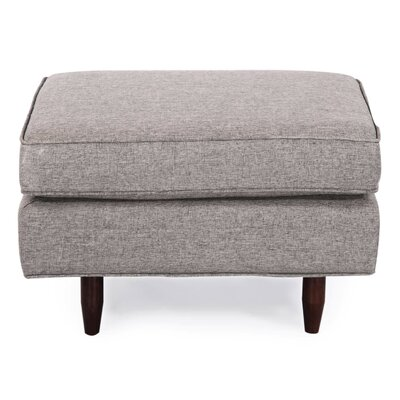 Mickey Mid Century Modern Ottoman Color: Grey