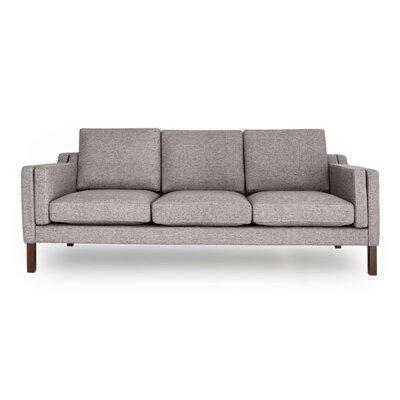 Rolando Mid Century Modern Sofa Upholstery: Deco Gray