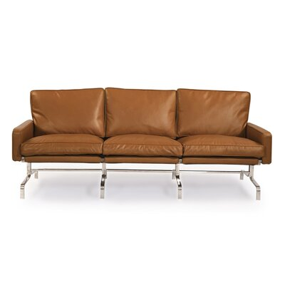 Modern Leather Sofa Upholstery: Canyon