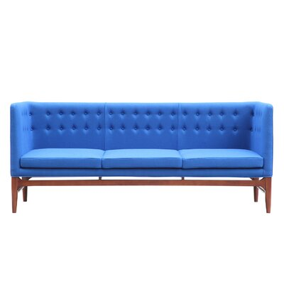 Mayor Mid Century Modern Chesterfield Sofa