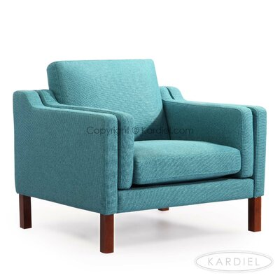 Rolando Armchair Upholstery: Dutch Blue