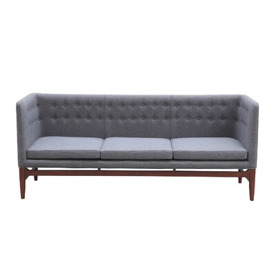 Mayor Mid Century Modern Chesterfield Sofa Upholstery: Kensington